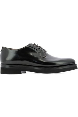 Fabi MEN'S FU9186ARMY LEATHER LACE-UP SHOES
