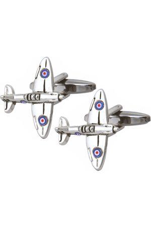 Dalaco Men Cufflinks - Spitfire Aircraft Cufflinks