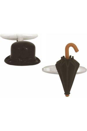 Dalaco Umbrella & Bowler Hat Cufflinks