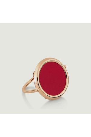 GINETTE NY Maria Coral Ring Pink