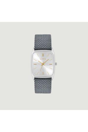 Laps Watches - Nova braided fabric watch Perlon gris