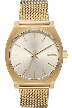 Nixon Time Teller Milanese All and Cream Watch