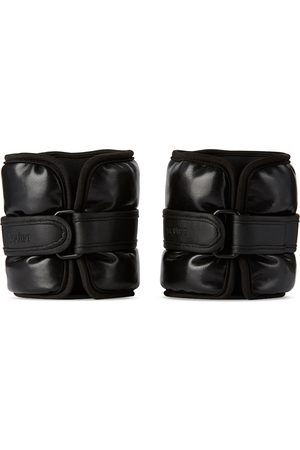 EQUIPT Vegan Leather UWrap Weighted Bangles, 3 lb