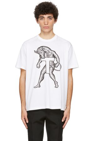 Burberry Mythical Alphabet Large 'T' T-Shirt