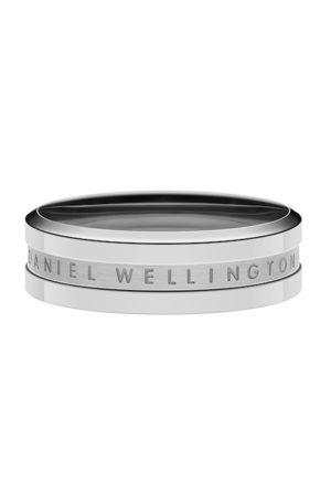 Daniel Wellington Unisex Silver-Plated Elan Ring