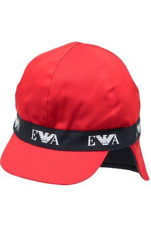 Emporio Armani Boys Hats - Logo-tape classic sun hat