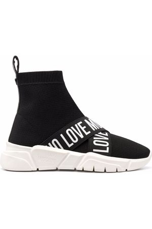 Love Moschino Sock-style sneakers