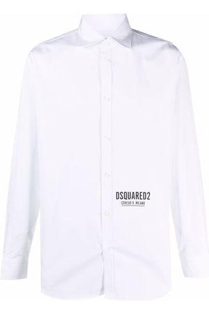 Dsquared2 Men Shirts - Logo-print shirt