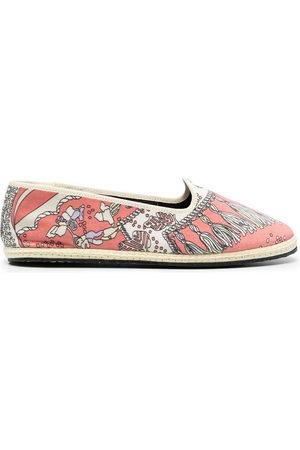 Emilio Pucci Women Ballerinas - Friulana Rugiada print slippers