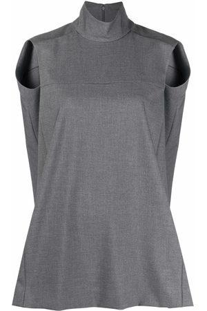 Nina Ricci High neck knitted vest