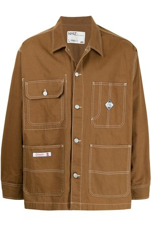 Izzue Men Shirts - X Neighborhood cargo-pocket shirt