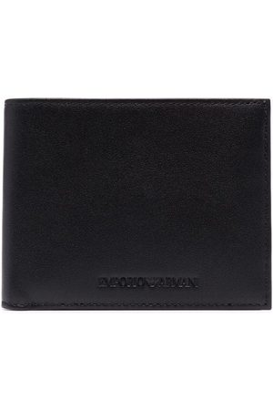 Emporio Armani Men Wallets - Graphic-print leather cardholder