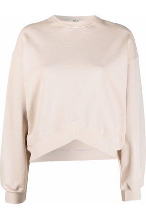 AGOLDE Women Long Sleeve - Long-sleeved cotton sweater