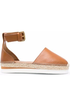 See by Chloé Flat leather espadrilles