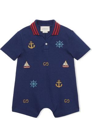 Gucci Rompers - Nautical motif shorties