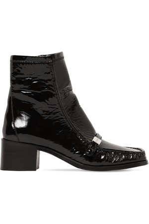 Dsquared2 45mm Wanna-d Tag Patent Leather Boots