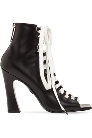 Dsquared2 100mm Leather Lace-up Boots