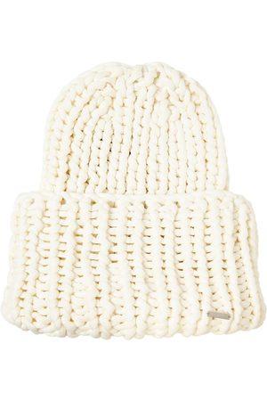 Dsquared2 Women Beanies - Wool Blend Knit Beanie Hat
