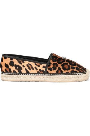 Dolce & Gabbana Men Casual Shoes - Leopard print espadrilles