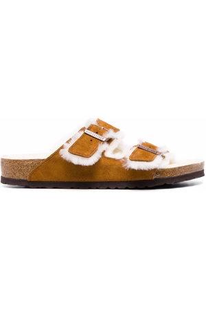 Birkenstock Shearling-lined sandals