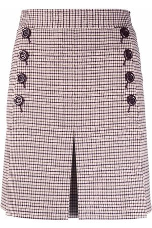 See by Chloé Women Pleated Skirts - Checked pleated skirt