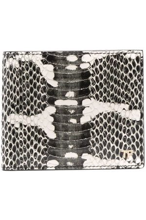 Tom Ford Snakeskin-print wallet