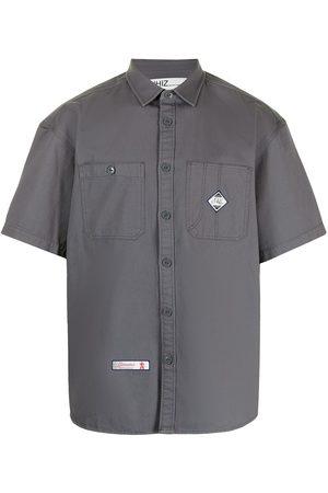 Izzue X Neighborhood cargo-pocket shirt