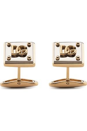 Dolce & Gabbana Logo-plaque cufflinks