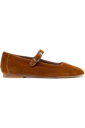 Le Monde Beryl Velvet Mary Jane shoes