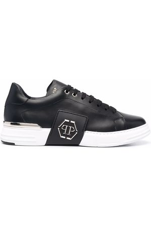 Philipp Plein Men Sneakers - Phantom Platinum low-top sneakers