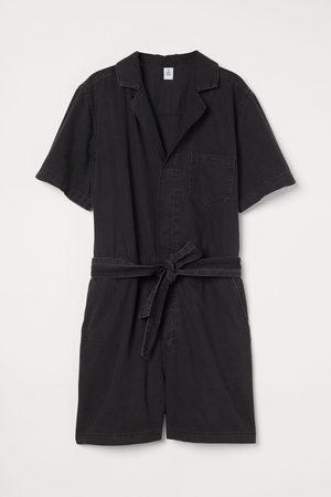 H&M Women Shorts - Short denim boiler suit