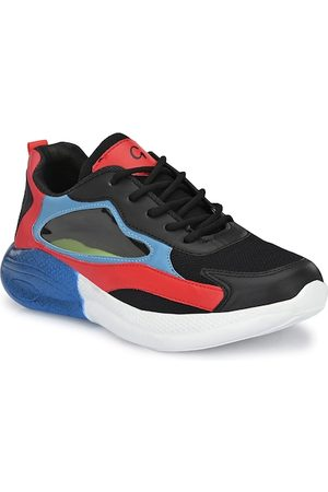 Giorgio Men Black Running Sports Shoes