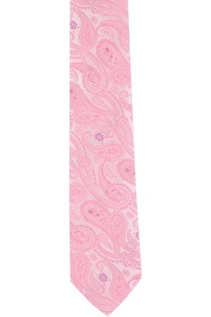 Peter England Men Pink & White Printed Accessory Gift Set