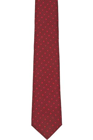 Peter England Men Maroon Patterned Accessory Gift Set