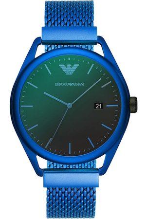 Emporio Armani Men Blue Analogue Watch