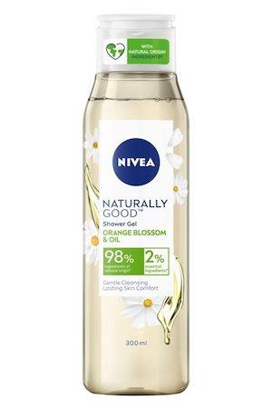 Nivea Naturally Good Orange Blossom & Oil Shower Gel 300 ml