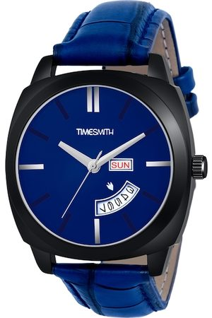 TIMESMITH Men Blue Analogue Watch TSC-139