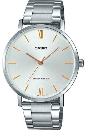 Casio Enticer Men Silver Analogue watch A1614 MTP-VT01D-7BUDF