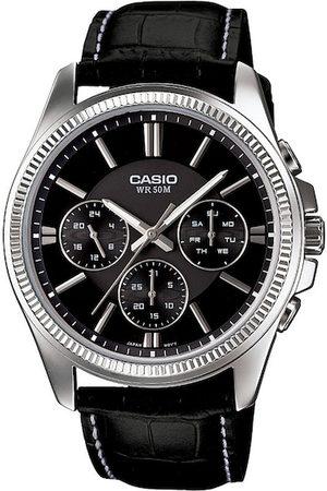 CASIO Enticer Men Black Analogue watch A838 MTP-1375L-1AVDF