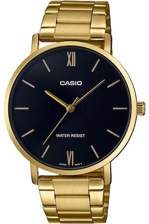 Casio Men Black Analogue Watch