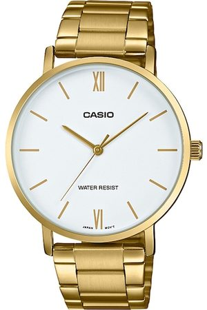 Casio Men White & Gold-Toned Analogue Watch A1780