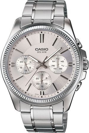 Casio Enticer Men Silver Analogue watch A837 MTP-1375D-7AVDF