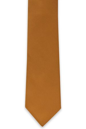 Van Heusen Men Brown Woven Design Broad Tie