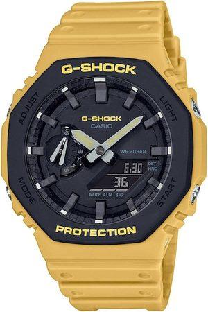 Casio Men Black Analogue and Digital Watch G1066