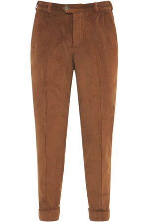PANTALONI TORINO Men Trousers - 17cm Corduroy Cotton Rebel Pants