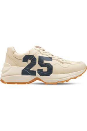 Gucci Women Sneakers - 50mm Rhyton Sneakers W/ '25