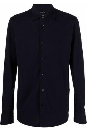 Malo Men Long sleeves - Long-sleeved cotton shirt