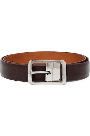 Benetton Men Brown & Tan Faux Leather Reversible Belt