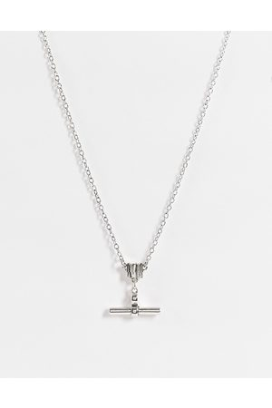 Icon Brand T-bar necklace in