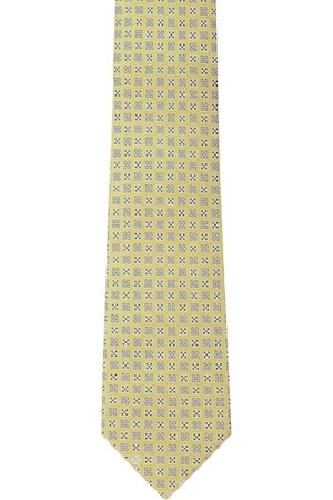 Peter England Men Yellow & Blue Self-Design Accessory Gift Set
